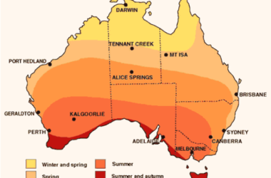 Australian Bushfire Seasons